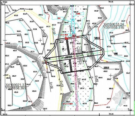 国电公司干式贮灰场初期坝体结构图