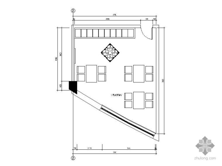 办公楼少数民族餐厅施工图
