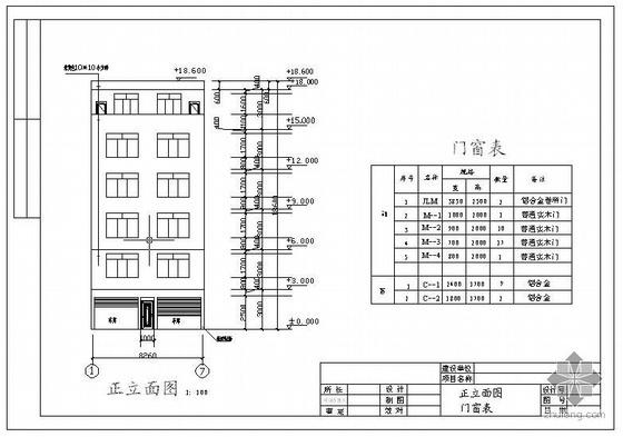 某私人住宅楼施工图