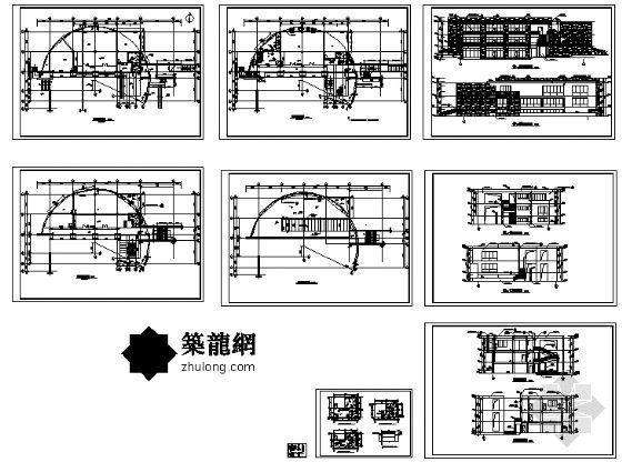 九龙基地服务楼建筑施工图-4
