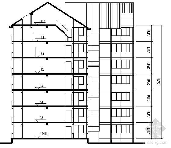 遵义市外环路沙河区修建性规划住宅楼方案图4-2