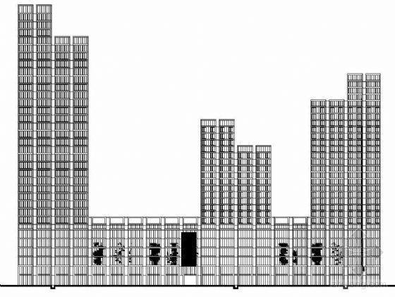 [宁波]某现代商业中心建筑设计施工图(含WORD说明及效果图)