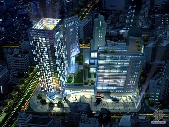 [成都]某财富中心建筑设计方案文本(新加坡某设计院)