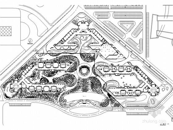 [河北]大学城一期景观设计图