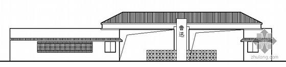 某中学门卫室建筑施工图