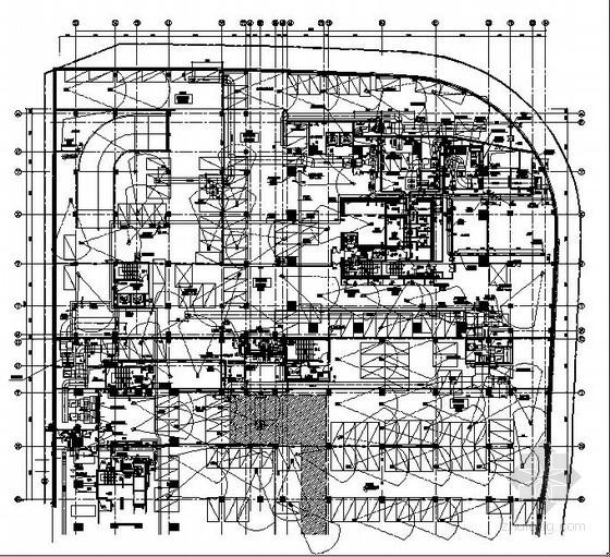 [重庆]商业中心地下室暖通设计施工图