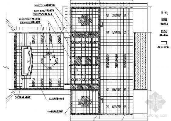 武汉居住小区景观工程全套施工图-3