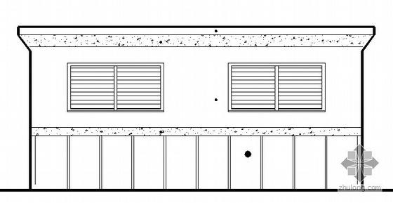 某公共厕所建筑方案图