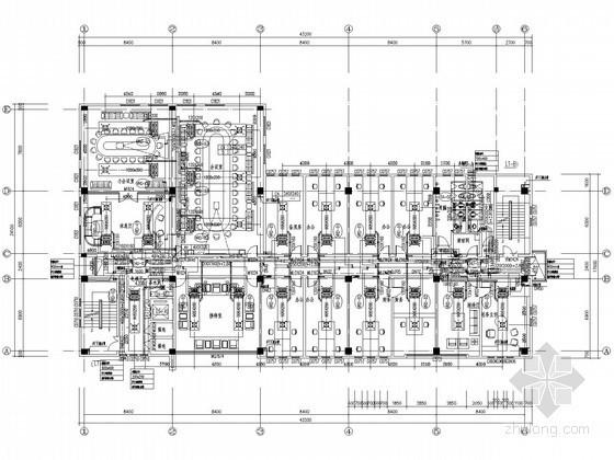 [上海]行政办公楼空调通风设计施工图