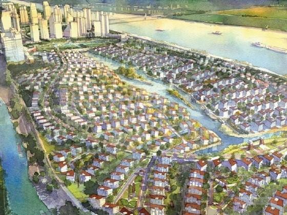 [湖南]大型度假社区规划及单体设计方案文本(国外知名建筑设计事务所)