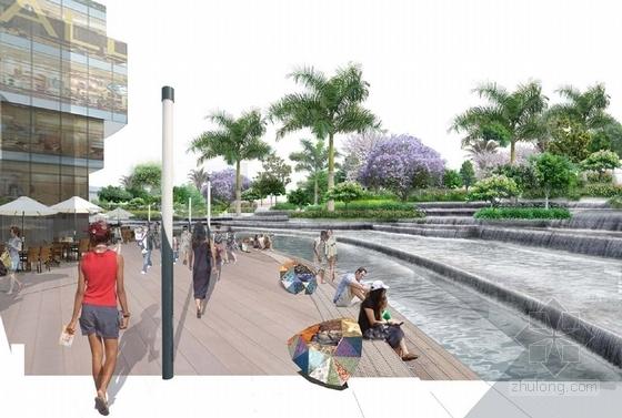[云南]幻彩云图生态化主题购物商城景观设计方案(设计效果精美)-主题购物商城景观效果图
