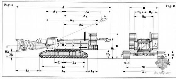 履带式起重机性能表(250t至300t)