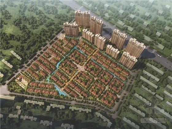 [湖北]欧式风格住宅小区规划设计方案文本(含CAD 知名设计院)