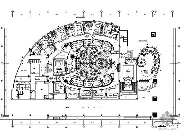 某大型奢华高档会所室内装修施工图