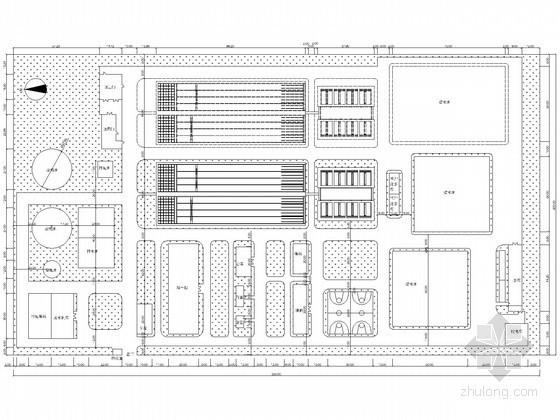 [江苏]自来水厂工艺设计图纸(附70余页说明书)