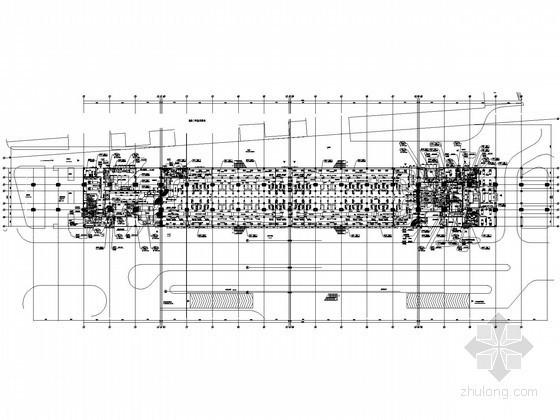 [上海]磁悬浮列车站空调通风设计施工图