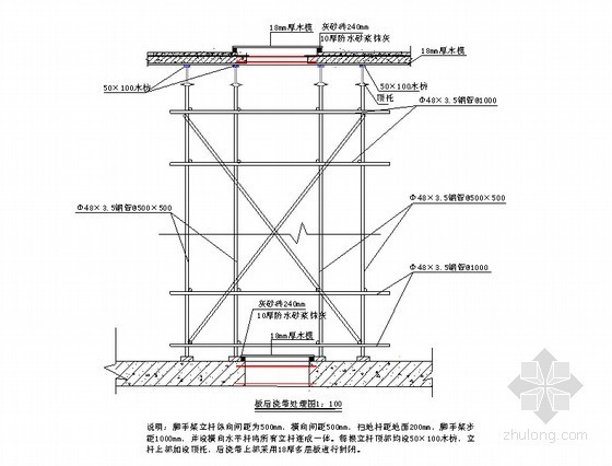 [广东]超高层核心筒混合结构办公楼工程地下室结构工程施工方案