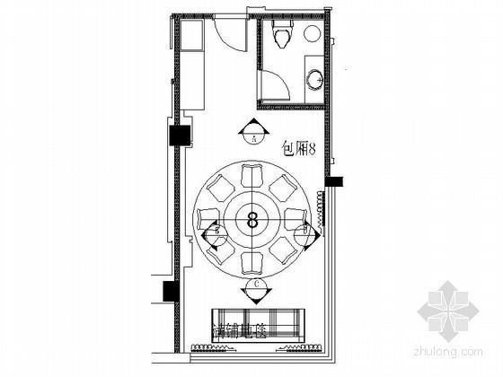 [上海]某奢华饭店包房8装修图