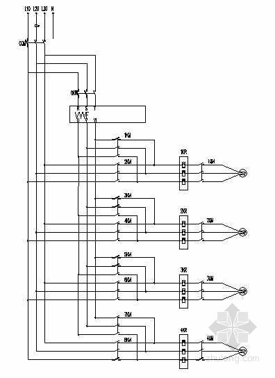 变频控制电气原理图