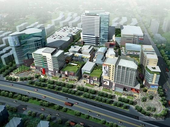 [上海]某现代国际商业广场概念规划文本