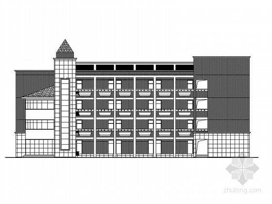 [杭州]某育才实验小学行政楼、教学楼建筑施工图