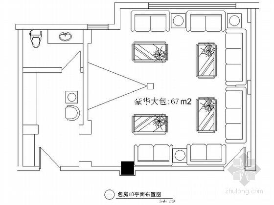 欧式娱乐会所资料下载-某欧式娱乐会所包房10装修图