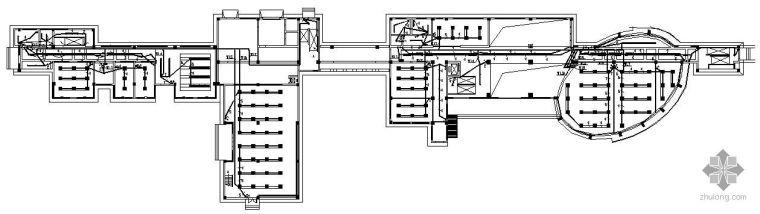苏州某四层办公楼装修电气图纸
