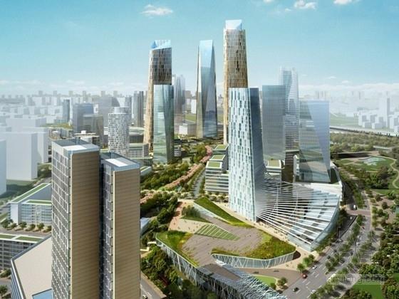 [北京]现代风格混合办公区规划及单体设计方案文本