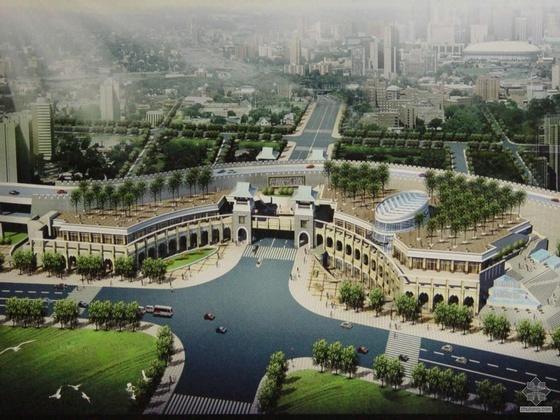 [广州]某公共设施复建房建筑设计方案及模型和实景照片(另包括详细参考资料)