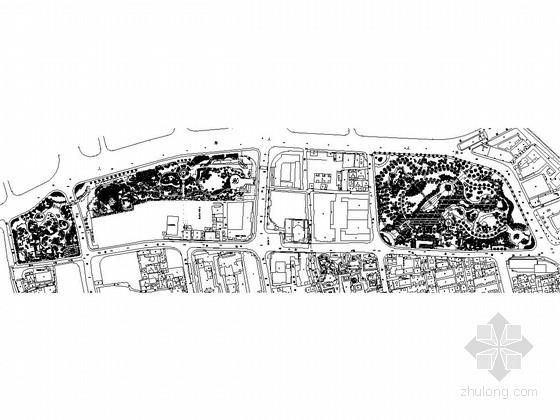 [上海]城市中心公园景观规划施工图