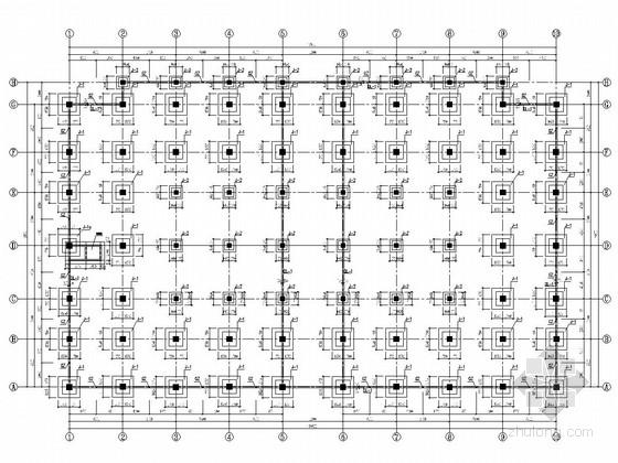 [陕西]地上二层钢网架结构农贸市场结构施工图