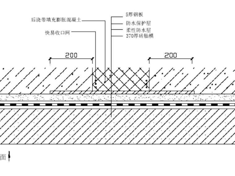 框筒结构基础底板混凝土工程施工方案