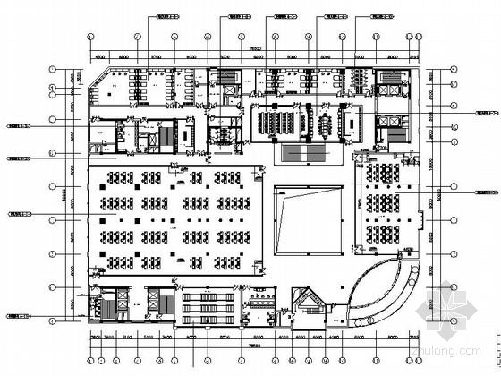 [吉林]现代风格网络通信大厦装修图