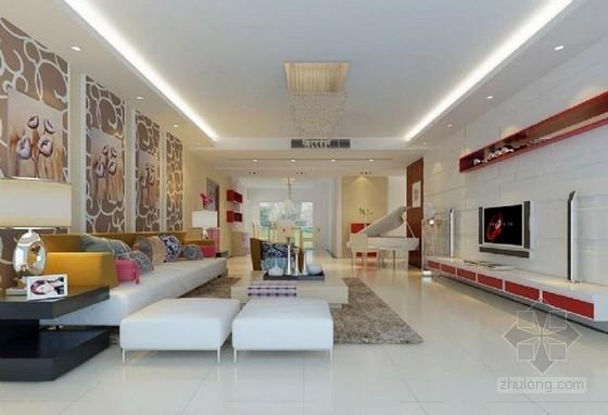 北京市家庭居室装饰工程施工合同范本(直接套用 5页)