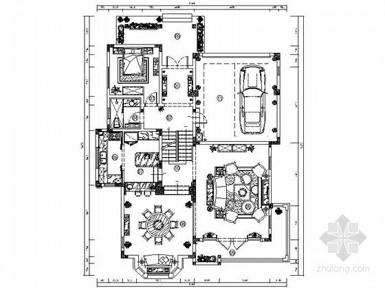 [重庆]奢华典雅欧式双层别墅室内装修图(含实景)