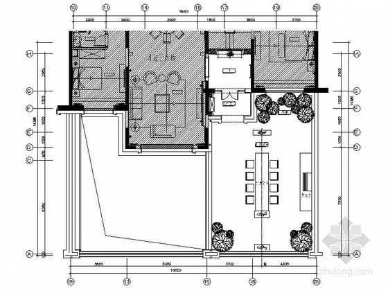 [上海]全国连锁知名设计院设计欧式别墅施工图(含方案设计)