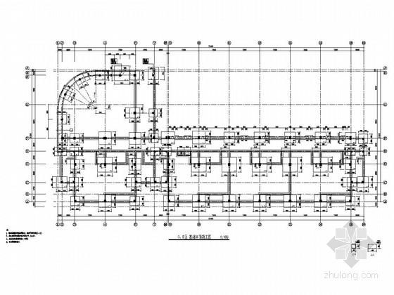 [江苏]三层框架结构幼儿园结构施工图