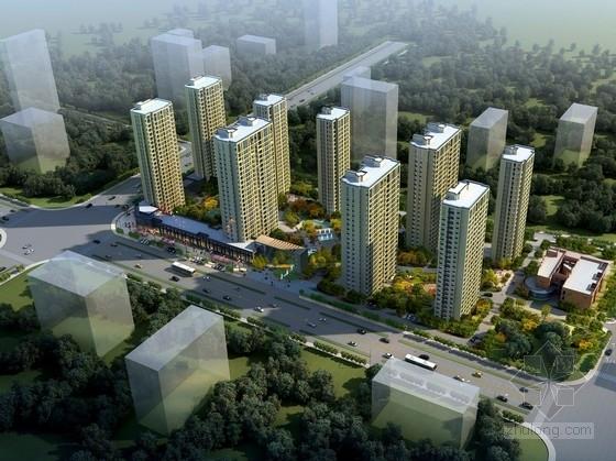 [浙江]现代风格高层住宅区规划设计方案文本