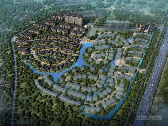 [江西]美式草原风格高档住宅区规划设计方案文本