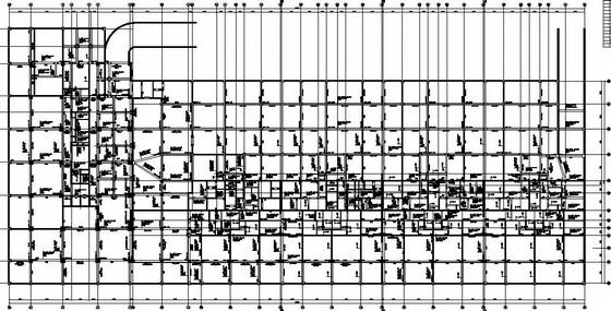 框架剪力墙地下室人防结构施工图