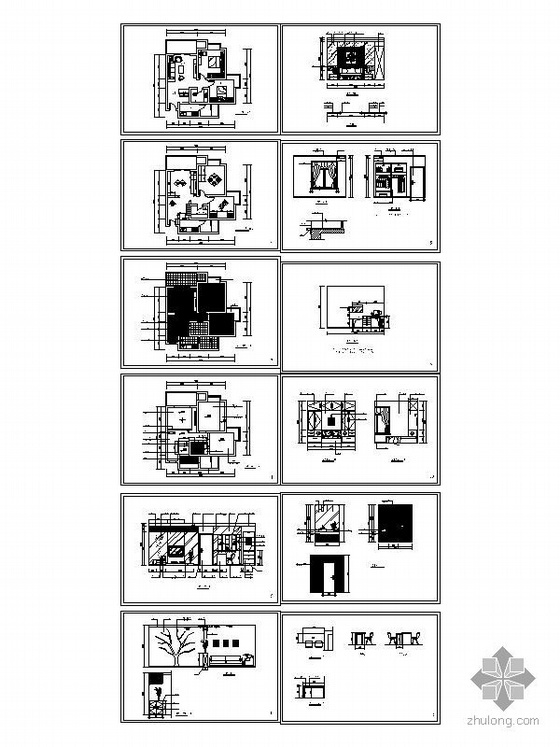 70平米两室一厅精装修图-4