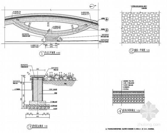 城市道路工程绿化景观设计施工图(43页)