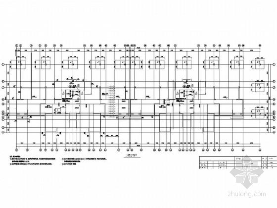 [湖北]地上30层剪力墙结构住宅楼结构施工图