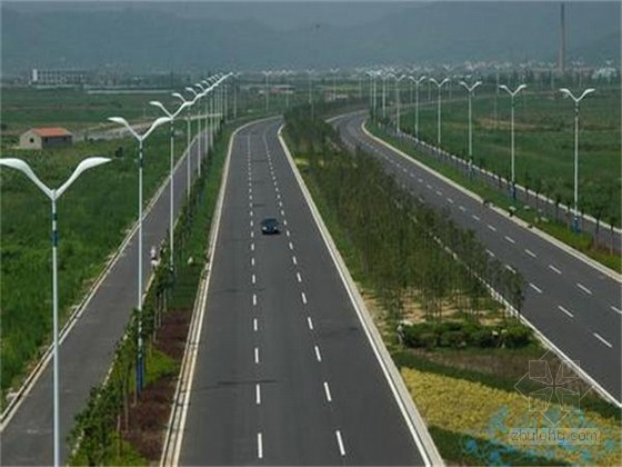 [广东]市政道路及配套工程监理规划(132页)