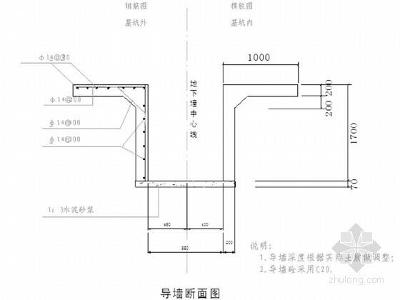 地铁车站深基坑围护结构地下连续墙施工方案(原创)