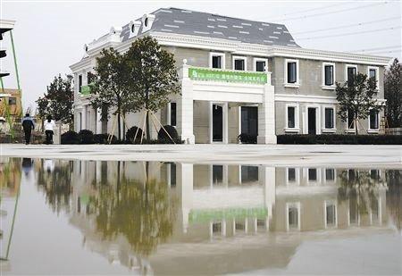 3D打印出别墅 400平方房屋可抗8级地震