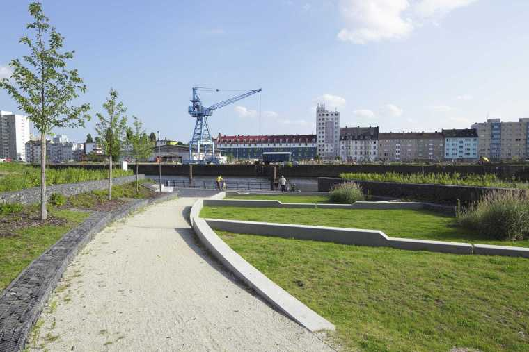 德国奥芬巴赫港景观-3