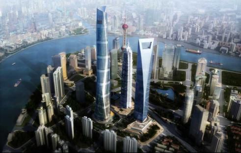 [上海]中心大厦BIM应用于室内精装修