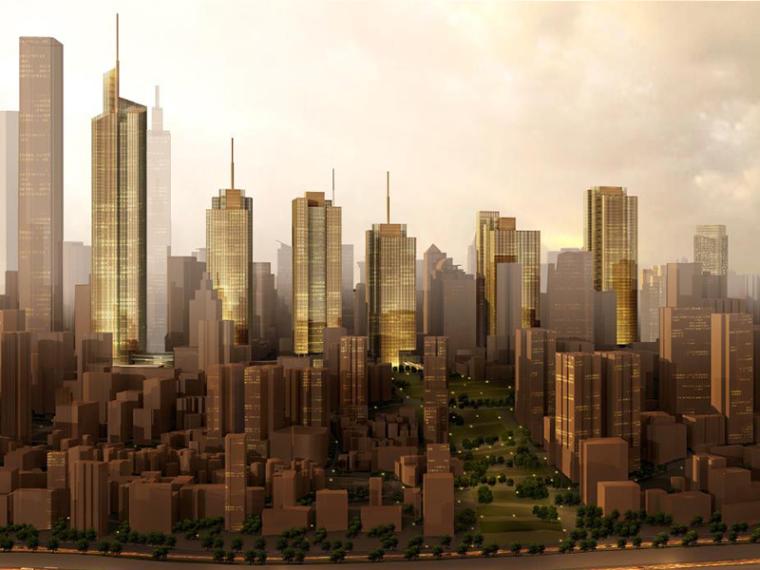 [重庆]KPF解放碑金融商务街区城市规划设计方案文本-hj,