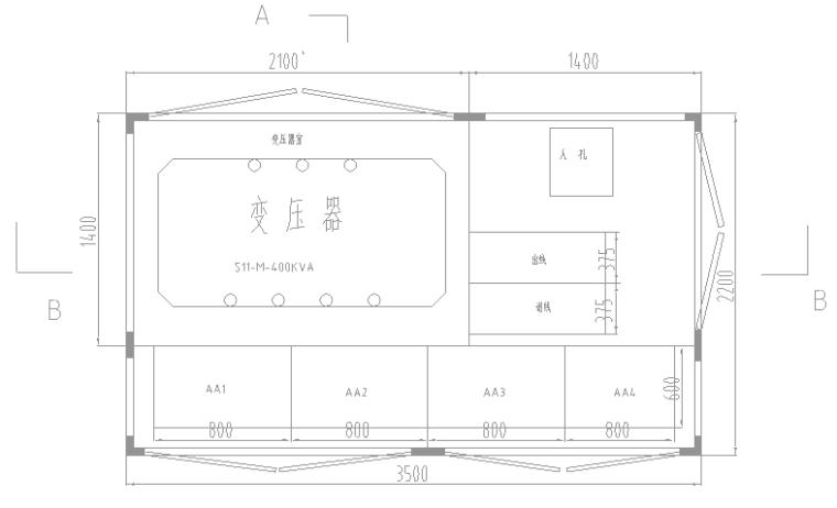 厂区400KVA箱变安装工程预算(附全套CAD图纸)